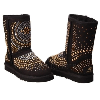 UGG Kids Jimmy Choo Mandah Black