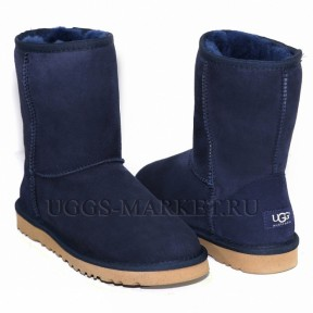 UGG Men's Classic Short II Navy