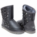 UGG & Jimmy Choo Starlit Metallic Grey