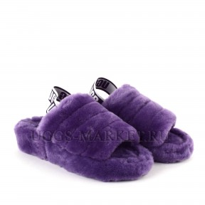 UGG Fluff Yeah Slide Violet Bloom