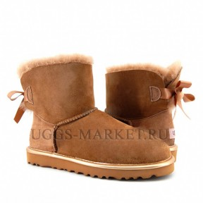 UGG Bailey Bow Mini II Drif Wood