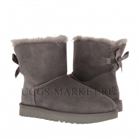 UGG Bailey Bow Mini II Grey
