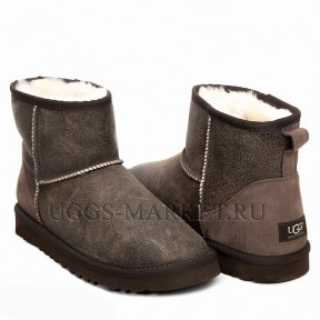 UGG Men's Mini Classic Bomber Chocolate