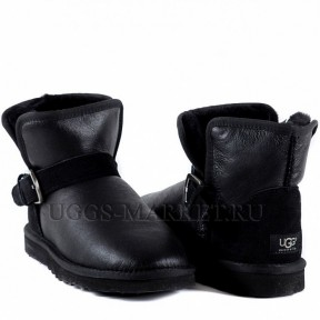 UGG Men's Mini Dylyn Metallic Black
