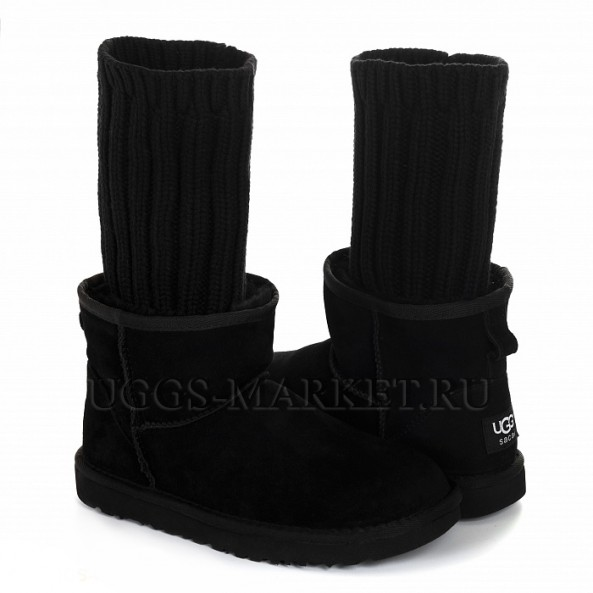 UGG Sacai Knit Black