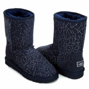 UGG Classic Short Constellation Navy