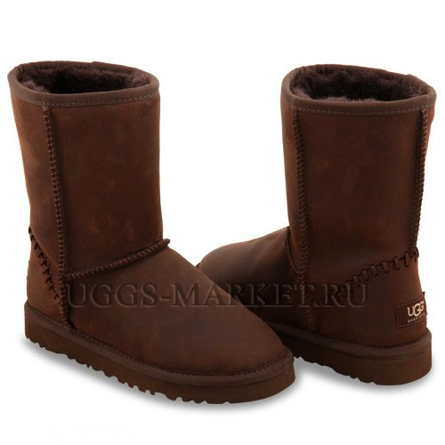 UGG Classic Short Deco Chocolate