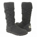UGG Argyle Knit Grey