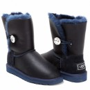 UGG Bailey Button Bling Metallic Navy