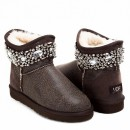 UGG & Jimmy Choo Crystals Bomber Chocolate