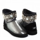UGG & Jimmy Choo Crystals Glitter Black