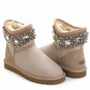 UGG & Jimmy Choo Crystals Metallic Sand