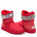 UGG & Jimmy Choo Crystals Red