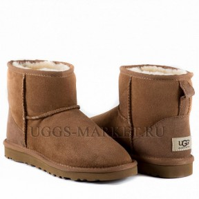 UGG Men's Classic Mini Chestnut