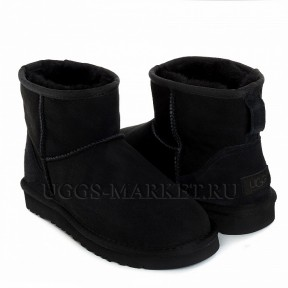 UGG Men's Classic Mini II Black