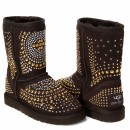 UGG & Jimmy Choo Mandah Chocolate