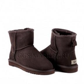 UGG Men's Classic Mini II Chocolate