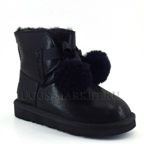 UGG Kids Gita Boot Metallic Black