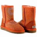UGG & Jimmy Choo Mandah Orange
