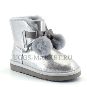 UGG Kids Gita Boot Silver