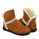 UGG Luxe Spill Seam Mini Chestnut