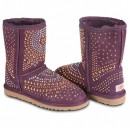 UGG & Jimmy Choo Mandah Purple