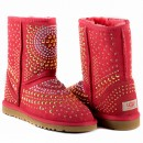 UGG & Jimmy Choo Mandah Red