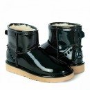 UGG & Jimmy Choo Mini Patent II Green