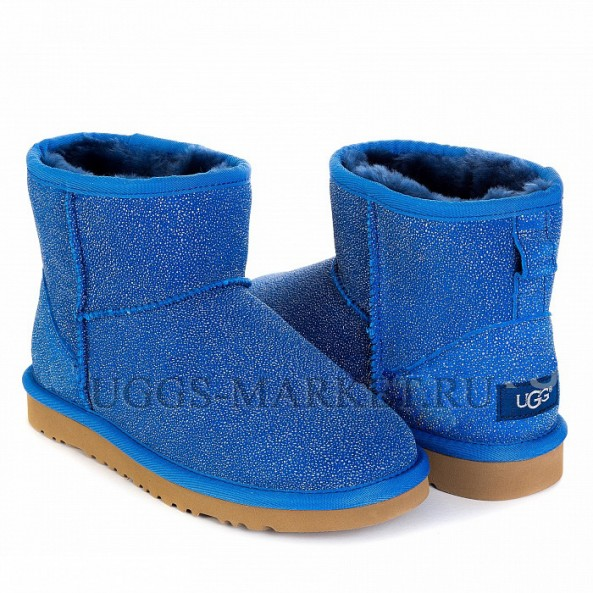 UGG & Jimmy Choo Mini Serein Blue