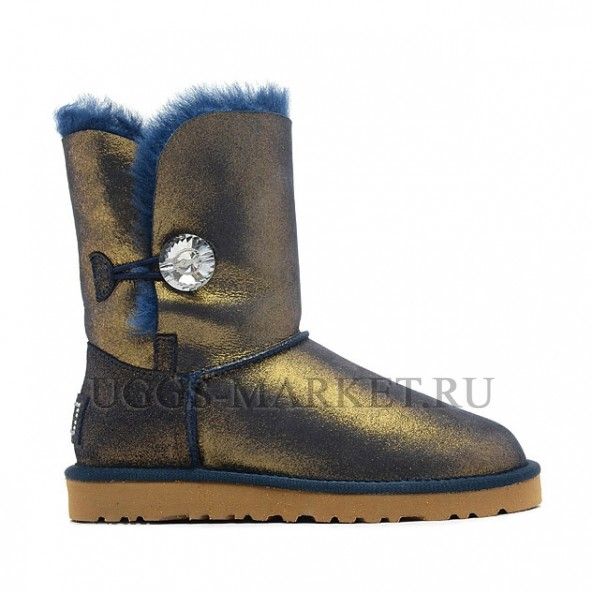 UGG Bailey Button I Do Navy Gold