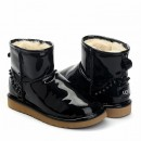 UGG & Jimmy Choo Mini Spikes Black